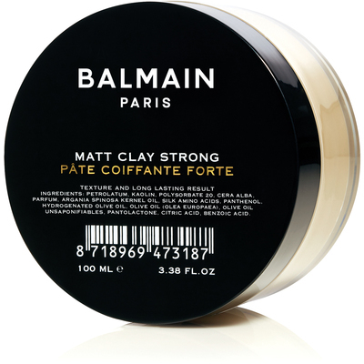 Balmain Paris Matt Clay Strong