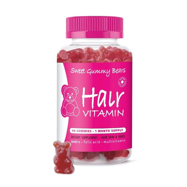 Sweet Gummy Bears Hair Vitamins